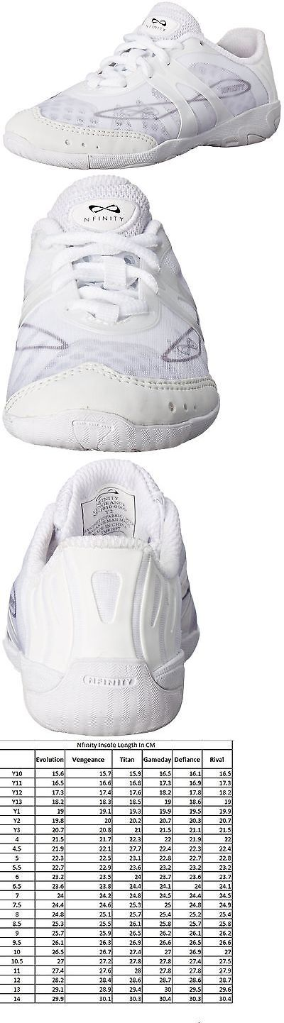 Cheerleading 66832: Nfinity Vengeance Cheer Shoe (Pair) White Youth 3 -> BUY IT NOW ONLY: $106.54 on eBay!