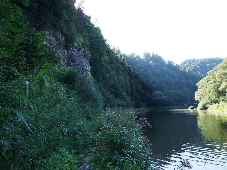 Walley of the river Sázava near Ledečko (central Bohemia, distr.Benešov)