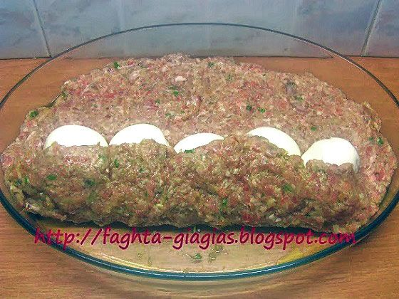 Ρολό κιμά γεμιστό με αυγά - από «Τα φαγητά της γιαγιάς»