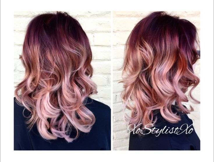 about Burgundy blonde hair on Pinterest - Burgundy hair dye, Burgundy ...