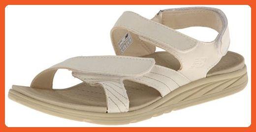 New Balance women's Revitalign Inspire Slide Sandal,Beige,6 B US - Sandals for women (*Amazon Partner-Link)