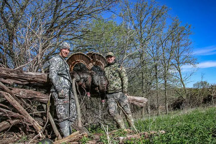 At the ranch early vs late spring turkey hunt getzone