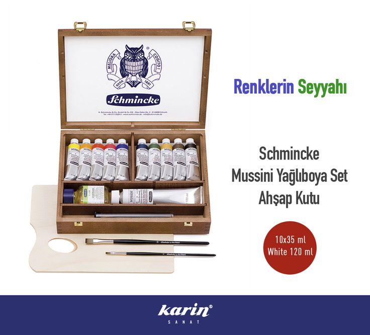 Schmincke Mussini Yağlıboya Set http://bit.ly/2gPWbNp  #Schmincke #Yağlıboya #resim #ressam #painter #KarinSanat #SanatMalzemeleri #sanat