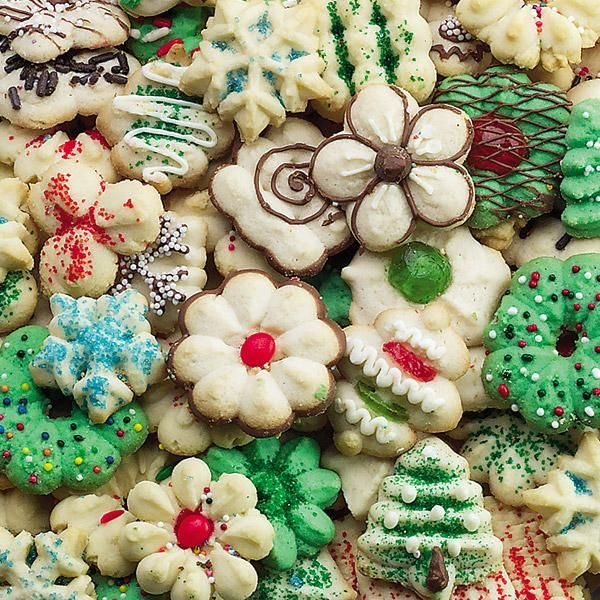 classic spritz cookies - Best Christmas Cookies 2014