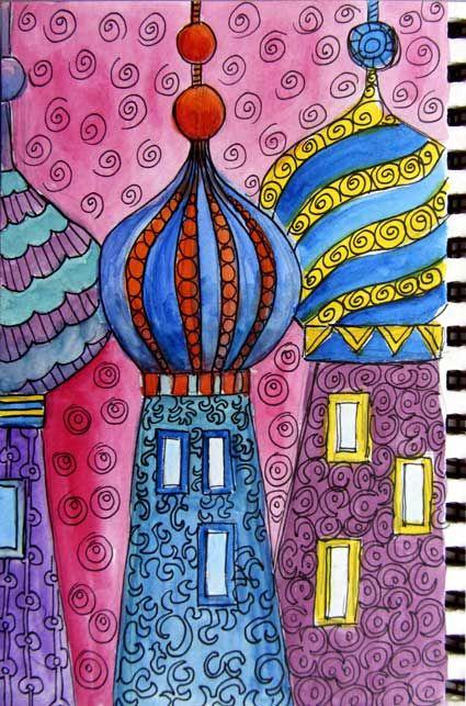 Ro Bruhn - onion domes