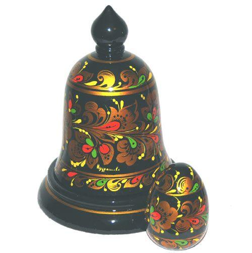 Khokhloma Bell surprise (egg)