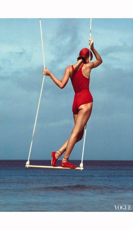 Bonnie Berman – Vogue 1983 patrick demarchelier