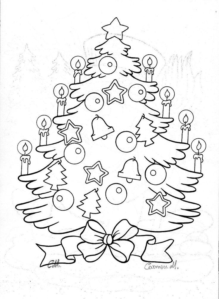 Трафарет для открытки с новым годом