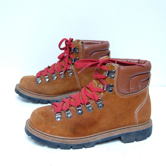 Hiking boots with 501s..omg! i wanted a pair so bad and my mother sd no!  they were thirty-five dollars! so i babysat at fifty cents an hour to buy them myself!!!