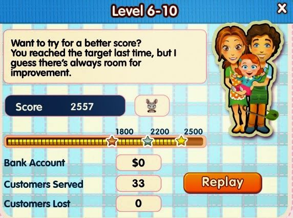 Delicious 10, Emily's New Beginnings, Level 6-10 - some extra help for the Premium edition's last level