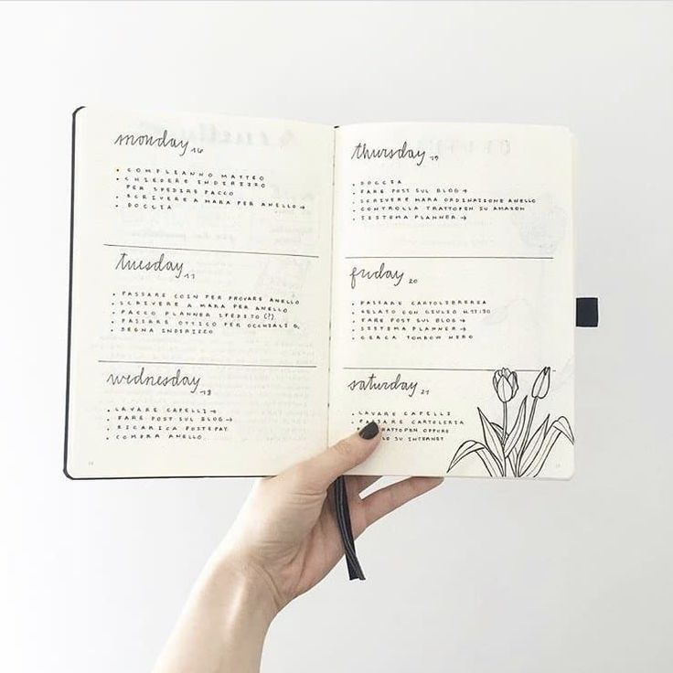 24 minimalist bullet journal layouts that will get you hard