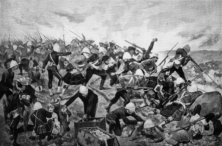 Battle of Majuba Hill - One of the most important battles of Boer War 1, on 27 Febr 1881. It was a victory for the Boers -it led to the signing of a peace treaty & later the Pretoria Convention, between the British and the ZAR, ending the 1st Boer War. Gen Colley, leading 405 British soldiers of the 58th regiment & 92nd Highlanders, occupied the summit of the hill on Febr 26-27, 1881. Gen Colley had brought no artillery & he didn't order his men to dig in, expecting the Boers to retreat.