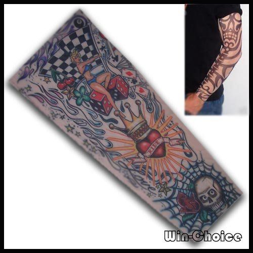 Aliexpress.com : Buy FREE SHIPPING Temporary Tattoo Sleeve  10pcs(5pairs) at wholesale price  Mixed Order accept  Dropshipping from Reliable tattoo sleeves suppliers on Win-Choice Trade Co., Ltd $7.99