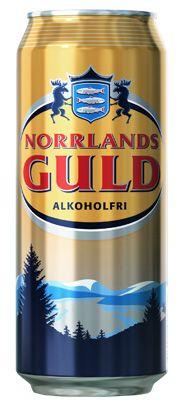 Norrlands Guld Alkoholfri / Ölet ger en förnimmelse av guldet från den rena norrländska naturen! Norrlands Guld gör sig alldeles utmärkt till grillade kötträtter, men också med bara ett par ölkorvar som tilltugg.