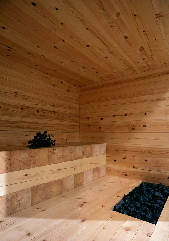 "moodboardmix: ""Kyly, Massive Wood Sauna by Avanto Architect. """