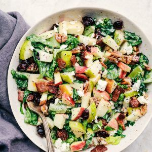 Autumn Chopped Salad with Creamy Poppyseed Dressing   The Recipe Critic