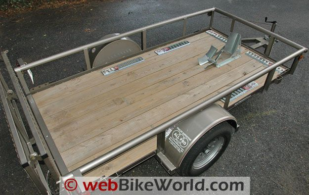 Diamond C Motorcycle Trailer Review Webbikeworld