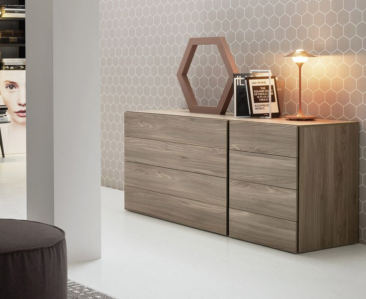 Modern 8 Drawer Chest of Drawers | Novamobili | Robinsons Beds
