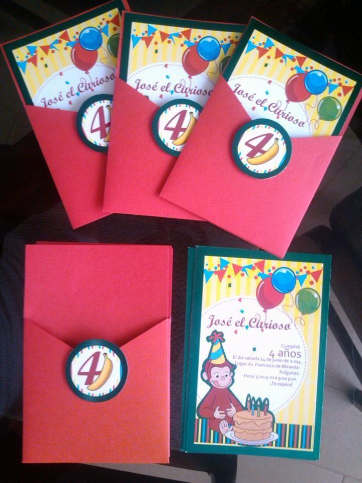 Cumpleaños Nro 4 de Jose Gilberto - Jorge el Curioso