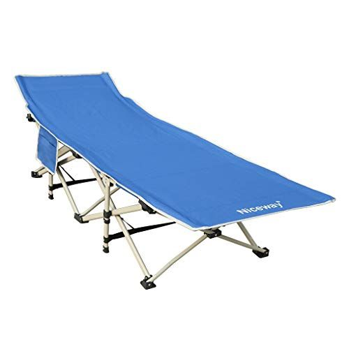 Swell Niceway Oxford Portable Folding Bed Camping Cot With Storage Unemploymentrelief Wooden Chair Designs For Living Room Unemploymentrelieforg