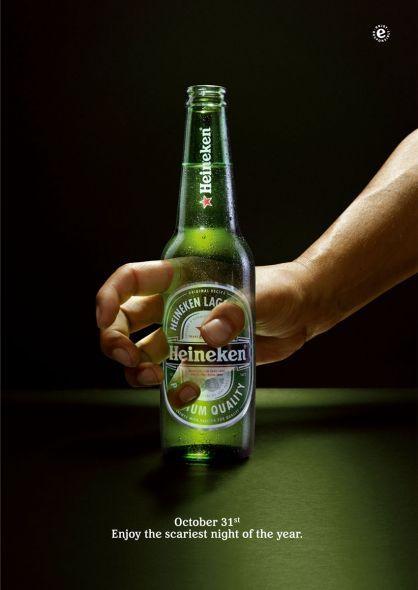 Heineken: Halloween Hand