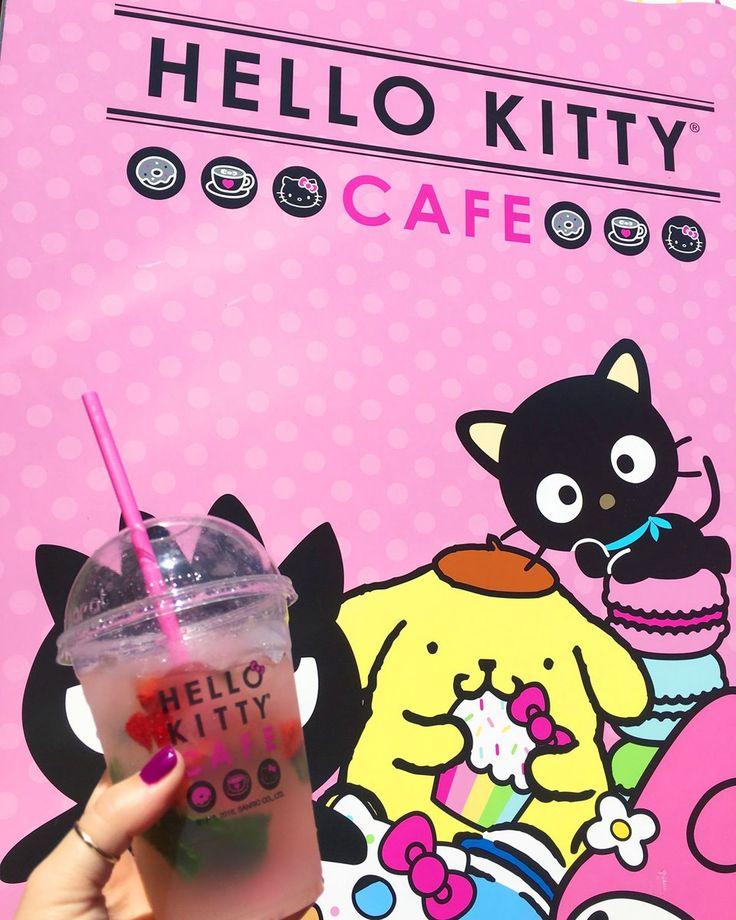 Happy Lemonade Day, from the Hello Kitty Cafe! Hello Kitty, May 2017