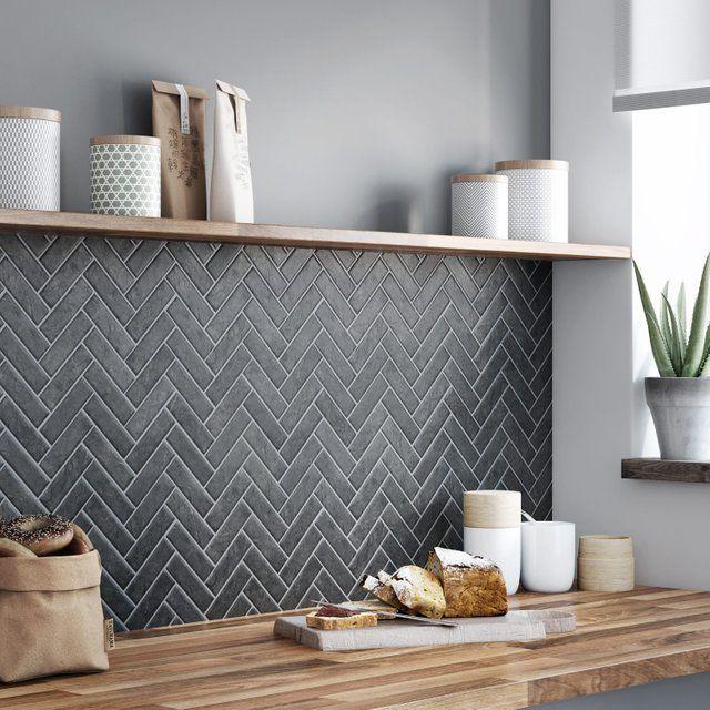 Mosaique Sol Et Mur Graphik Chevron Marbre Noir Leroy Merlin Marbre Noir Sol Et Mur Marbre