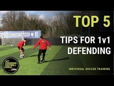 Online Soccer Training - Top 5 tips for 1v1 defending - My Personal Football Coach