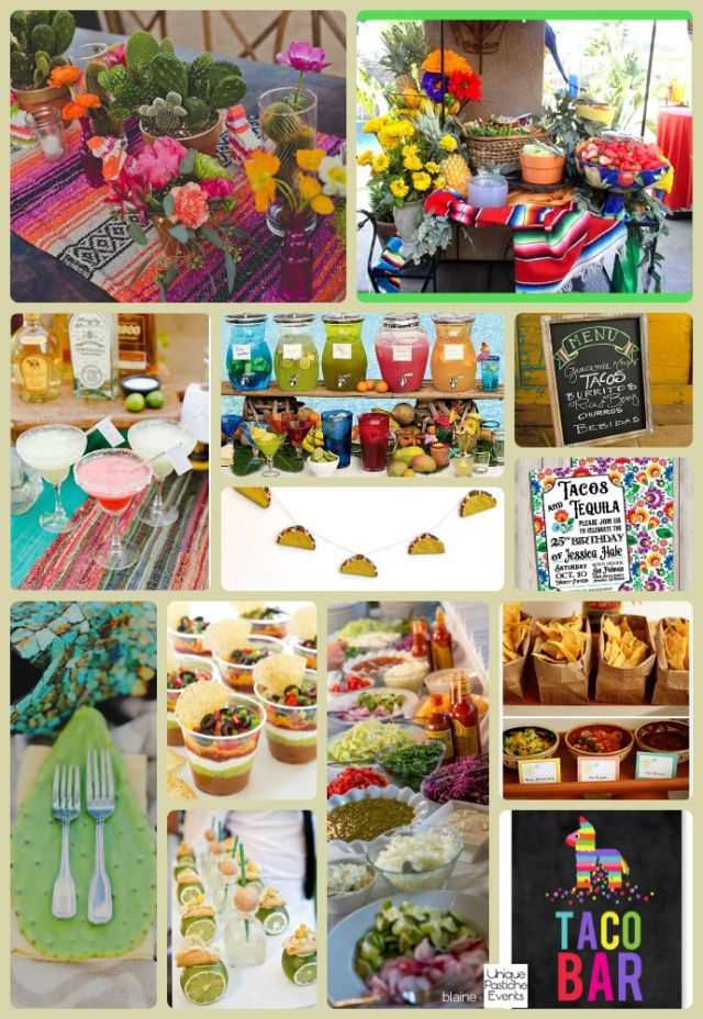 Taco And Tequila Tuesday Party Ideas A Party And Holiday