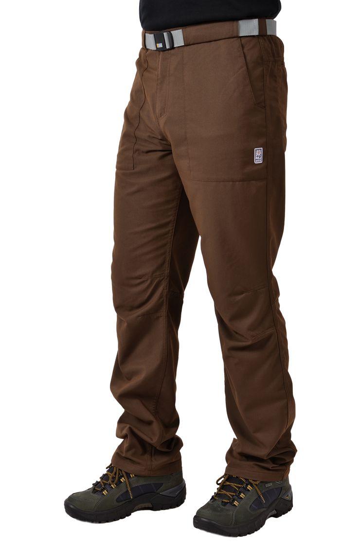 Легкие брюки из материала содержащего бамбуковые волокна.