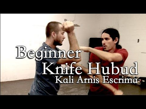 HUBUD KNIFE Drill - Kali Arnis Eskrima. Filipino martial arts