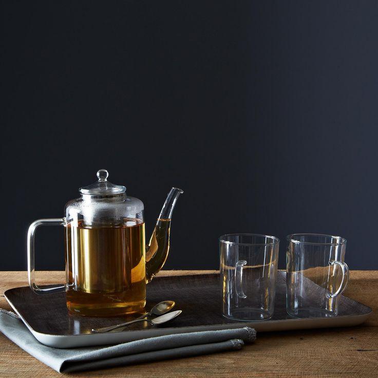 Glass Teapot with Iron Filter   Food52 (@food52)