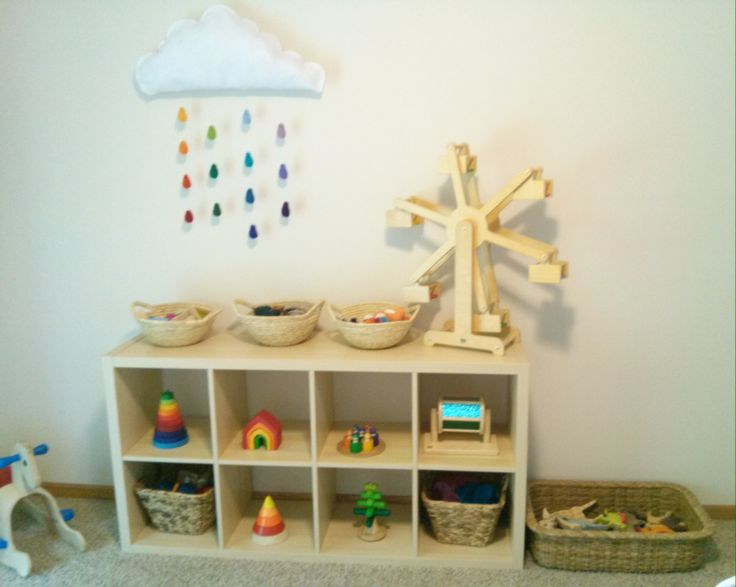 Waldorf play room Waldorf toys
