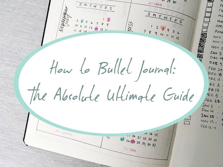 How to Bullet Journal: The Absolute Ultimate Guide — The Lazy Genius Collective