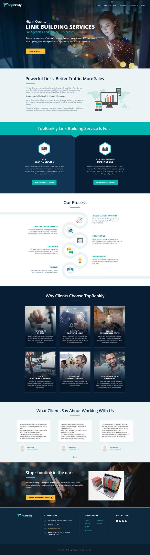 SEO/Outreach Company Web design