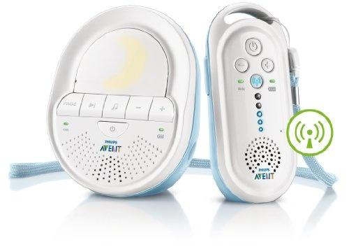 Philips SCD 505/00 Avent ECO DECT Babyphone (2-Wege Kommunikation, Nachtlicht) weiß, ETM Testmagazin Urteil Sehr Gut (04/12)