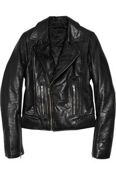 Maje Leather Biker Jacket. need.