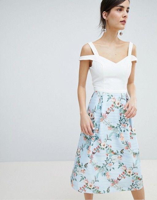 f0f65f650aa2 Oasis Fitzwilliam 2 in 1 Jacquard Midi Dress   ASOS - Dresses ...