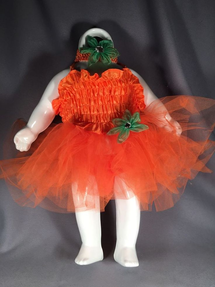 Pumpkin Tutu Costume Infant Girls Halloween Photography Costume Rubies #Rubies #Tutu