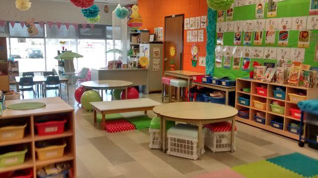 La maternelle de Francesca: Notre classe aux places flexibles!