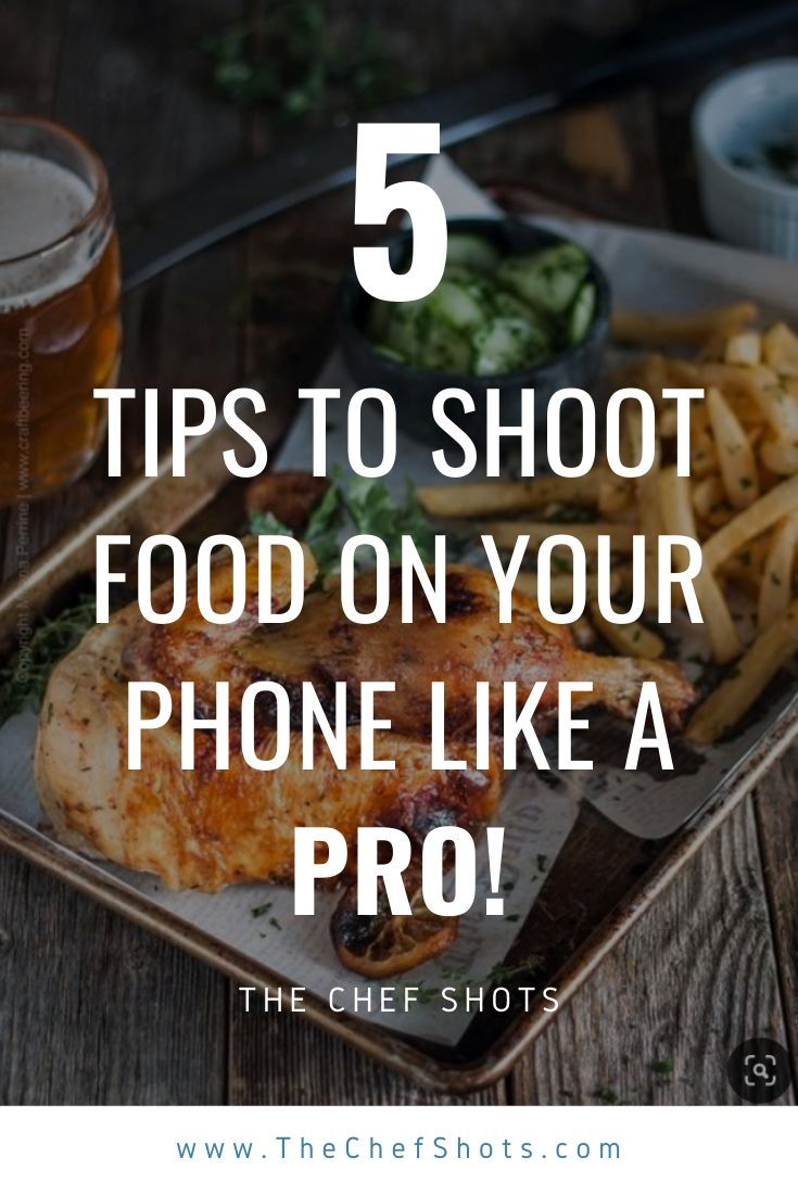 3 Smartphone Photography Tips For Casual Photographers: Shoot Food On Your Phone Like A PRO!!