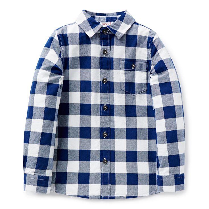 Shop now: Flannel Shirt. #seedheritage #seedchild
