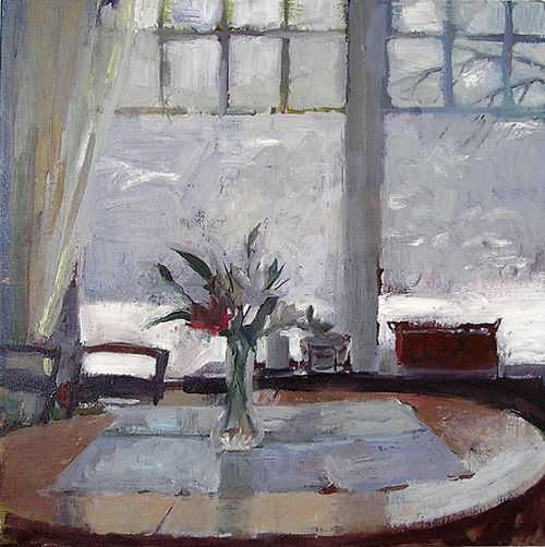 ◇ Artful Interiors ◇ paintings of beautiful rooms - Carol Rabe | Red Lily