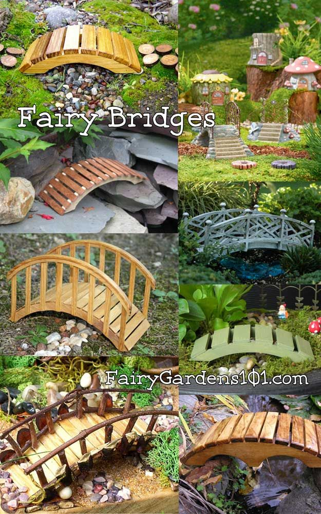 Fairy Bridges, Could Use Almost Any Medium For These. Note Also How They  Made