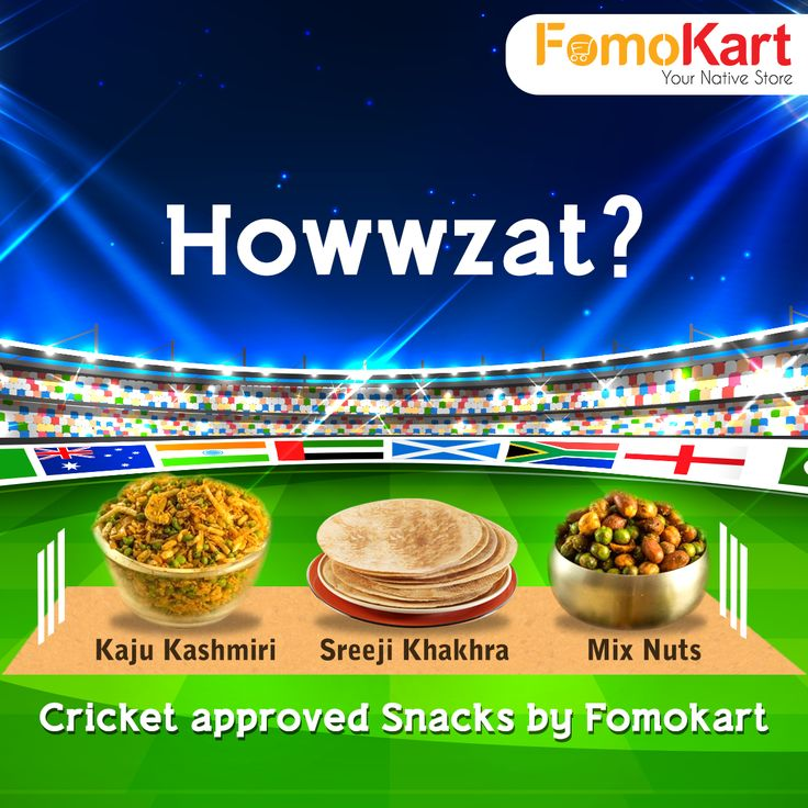 MATCH DAY. Turn this epic match more awesome with the best. Be it Bikaner's ‪#‎BhikaramChandmal‬, Delhi's ‪#‎Evergreensweets‬ or Gujarat's ‪#‎ShreejiKhakhra‬ choose from a wide variety of munchies to compliment your game night. Order it all at http://www.fomokart.com/snacks