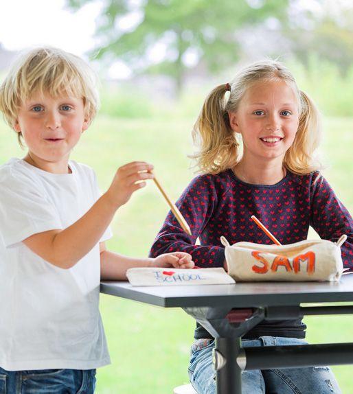#Kinderfeestje thuis? Knutselpakket etui versieren!