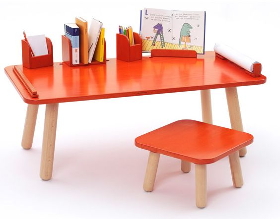 Un bureau volutif pour enfant par olaf schroeder blog design et d co - Bureau enfant original ...