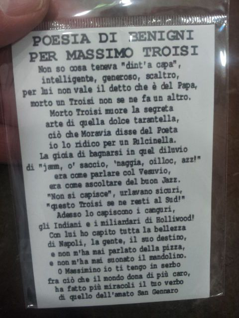 poesia benigni a m troisi