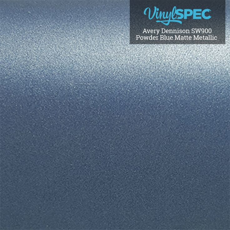 Avery Dennison Powder Blue Matte Metallic SW900-614-M Vinyl Spec- Distributor of Vinyl Car Wrap Film, tools, and aftercare products