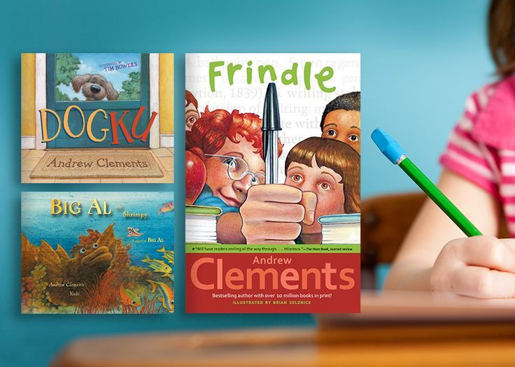 Helping Kids Think Like Writers: A Talk with Frindle Author Andrew Clements